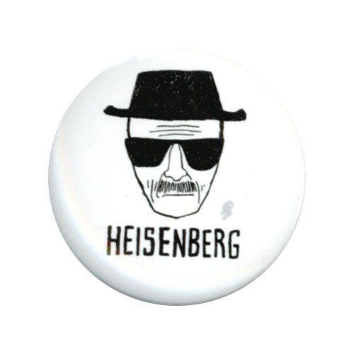 Breaking Bad Heisenberg 1.25 Inch Button - 1