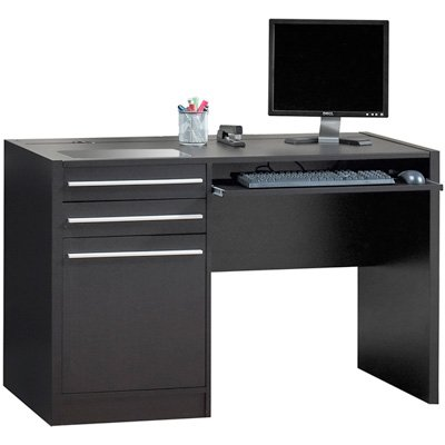 Buy Low Price Comfortable Connect IT Computer Desk – Cappuccino (B004G7RVVO)