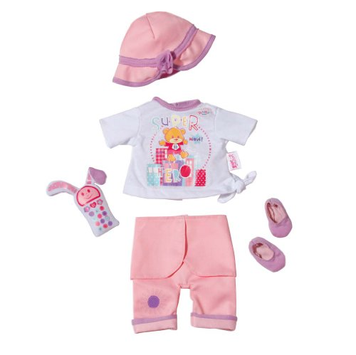 Zapf Creation 819791 - My Little BABY born Deluxe Outdoor Set