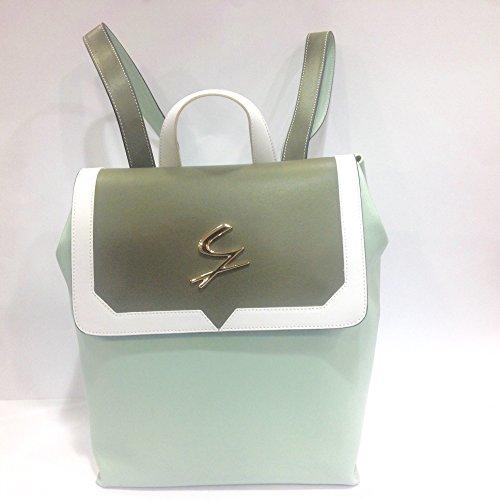 Zaino GATTINONI, in pelle lavorazione saffiano, molto versatile perché multicolor Linea Andromaca art. G152LWB38016-508