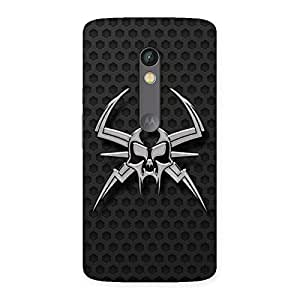 Cute Skull Fission Back Case Cover for Moto X Play