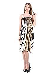 Selfiwear SW-544 Georgette Designer Dress