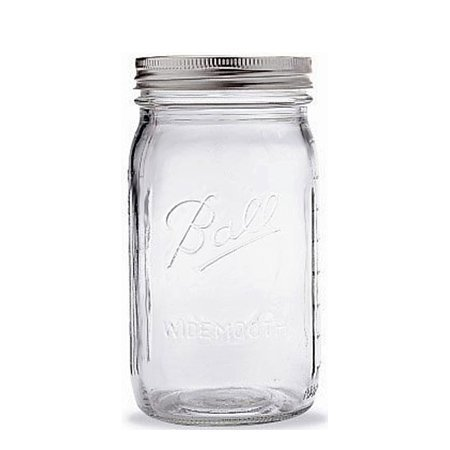 Ball® 1 Quart Wide-mouth Canning Jar (32 Oz.) (Qt Canning Jars compare prices)
