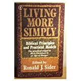 Living More Simply (034025887X) by RONALD J. SIDER