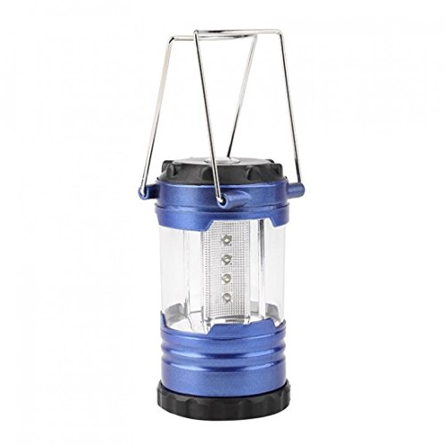 1-Pc-Unblemished-Popular-12x-LED-Nightlight-Lantern-Tent-Torch-Lightweight-Hiking-Bivouac-Colors-Blue-with-Compass