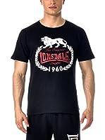 Lonsdale Camiseta Manga Corta Orginal 1960 (Negro)