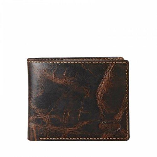 Fossil Norton Traveler Men's Wallet Brown Ml3170200