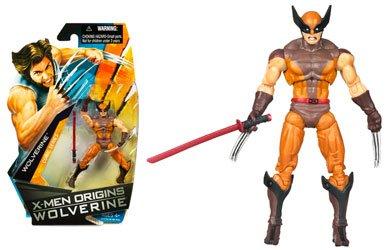 Buy Low Price Hasbro X-Men Origins Wolverine – Comic Book Series – Wolverine Action Figure Brown Suit (B001SRAC98)