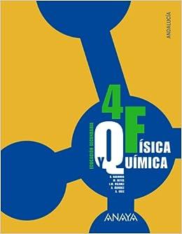 Física y Química 4. 4º Educación Secundaria Obligatoria. Libro del