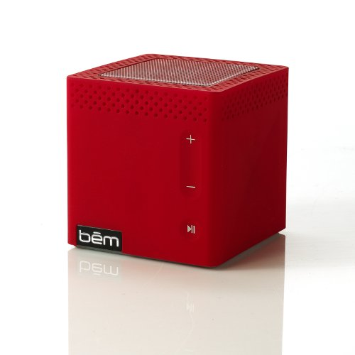 Bem Hl2022C Bluetooth Mobile Speaker For Smartphones - Retail Packaging - Red