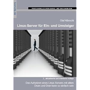 eBook Cover für  Linux Server f uuml r Ein und Umsteiger
