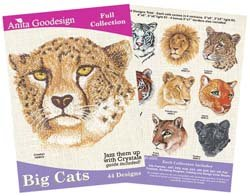 Anita Goodesign Big Cats (44 Designs) from Anita Goodesign