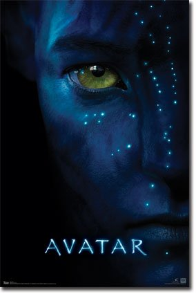 Image of Avatar Movie (Face) Poster Print - 22
