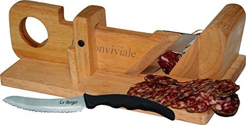 Guillotine à saucisson La Conviviale & Couteau Pique Nique Offert