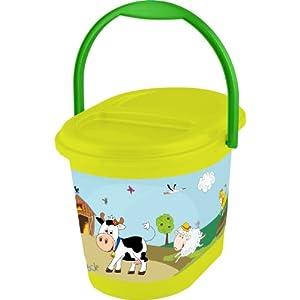 OKT Kids 11801274063 - Cubo para bebé, diseño de granja - BebeHogar.com