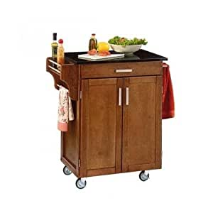 Home Styles 9001 0064 Small Cabinet Kitchen Cart Kitchen Islands Carts