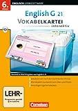 Software - EG 21 Band 2; 6.Klasse Vokabelkarteien interaktiv zu allen Ausgaben