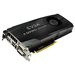 EVGA GeForce GTX670 FTW 2048MB GDDR5 256bit, Dual Dual-Link DVI, HDMI, DisplayPort, 4-Way SLI Ready Graphics Card Graphics Cards 02G-P4-2678-KR
