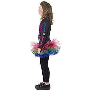 Smiffy's Neon Skeleton Girl Costume