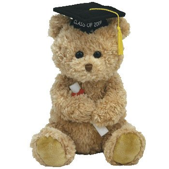 TY Classic Plush - GRADS the 2008 Graduation Bear - 1