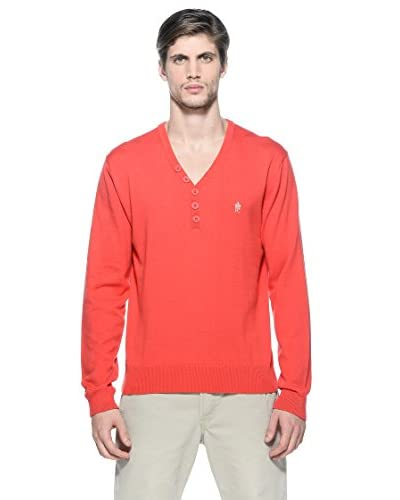 French Connection Pullover Greenwich Plain [Rosso]