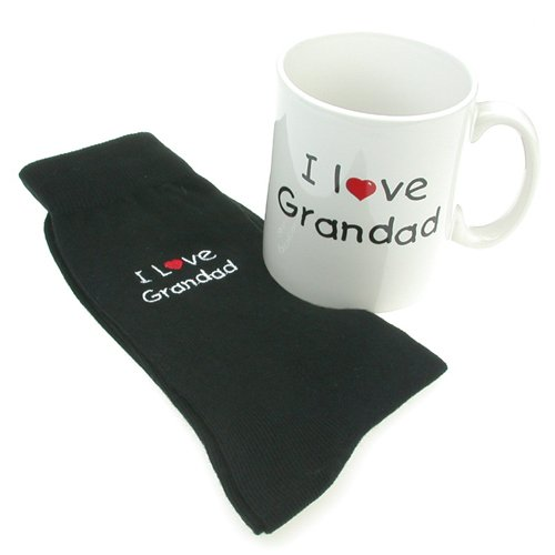Grandad Mug & Sock Gift Set - Mug & Socks with