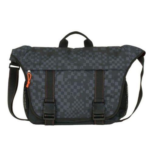 FUEL Black Messenger Bag