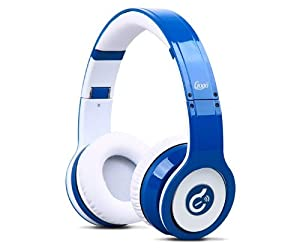 New Blue Noise Cancelling Syllable Wireless Bluetooth Stereo Headsets with Microphone for Iphone 4 4s 5