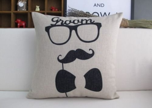 Mustache Body Pillow