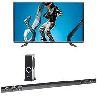 Sharp 70UQ17U LED HDTV with HT-SB602 Sound Bar