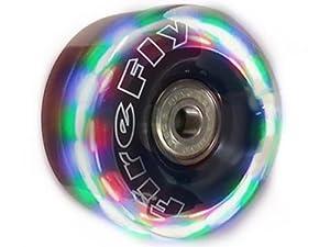 Firefly LightUp Quad Wheels - Flashy Light Up Wheels w/ Devaskation Tool Bag