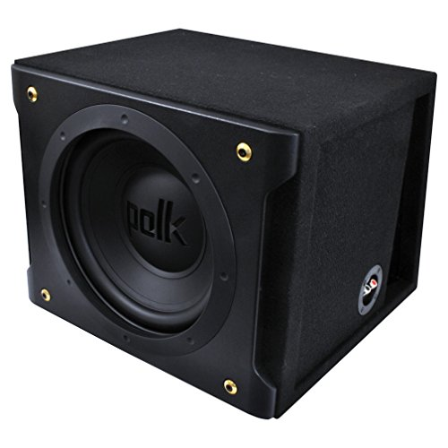 "Polk Audio - 12"" inch Dual-Voice-Coil Loaded Subwoofer Enclosure DXI1201"