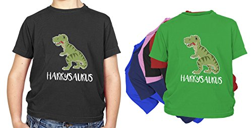 personalised-kids-name-dinosaur-t-rex-t-shirt-100-cotton-perfect-present-gift-for-birthday-christmas
