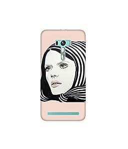Kolor Edge Printed Back Cover for Asus Zenfone Selfie - Multicolor (4400-Ke10177ZenSelfieSub)