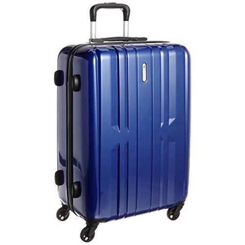 [ワールド トラベラー] World Traveler アマゾン限定 ACEコラボ特別企画 ペンタクォーク ストッパー付スーツケース59cm・3.5kg・60リットル・TSAロック搭載・預け入れサイズ 05662 03 (ネイビー)