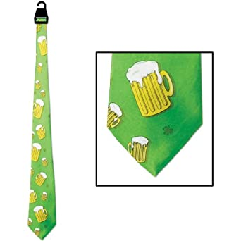 Beer Mug Tie Party Accessory (1 count) (1/Pkg)
