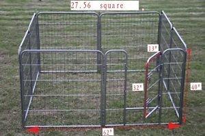 BestPet Hammertone Finish Heavy Duty Pet Playpen Dog Exercise Pen Cat Fence S, 40-Inch