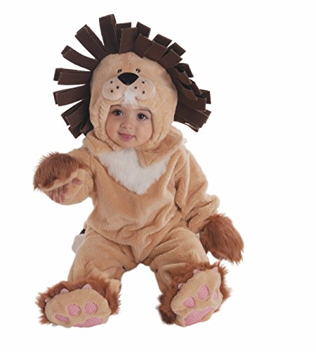 Forum Novelties Baby's Lion Infant Costume, Brown