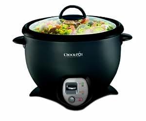 Crock-Pot 1.8L Saute Rice Cooker Black