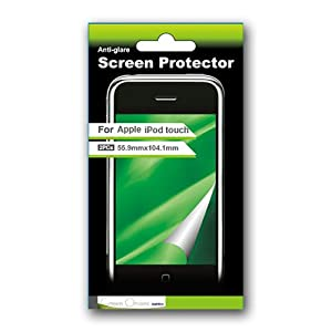 Green Onions Supply 2-Pack Anti-Glare Screen Protector for iPod touch 1G, 2G, 3G (Transparent)