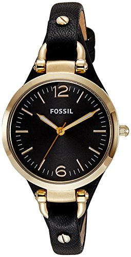 Fossil Women's ES3148 Georgia Three-Hand Gold-Tone