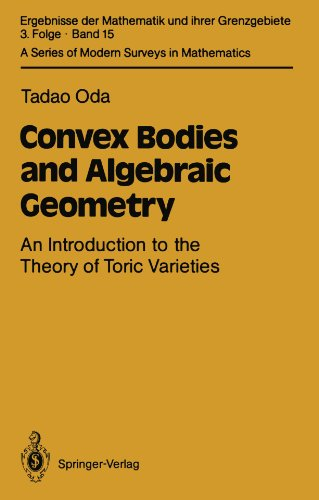 Convex Bodies and Algebraic Geometry