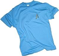 Star Trek The Original Series Science Blue Uniform Mens T-Shirt