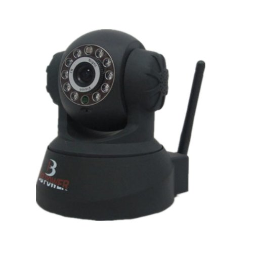 DB Power VA033K Wireless WIFI IP Network Security Camera Pan/Tilt IR Night View (Black) at Sears.com