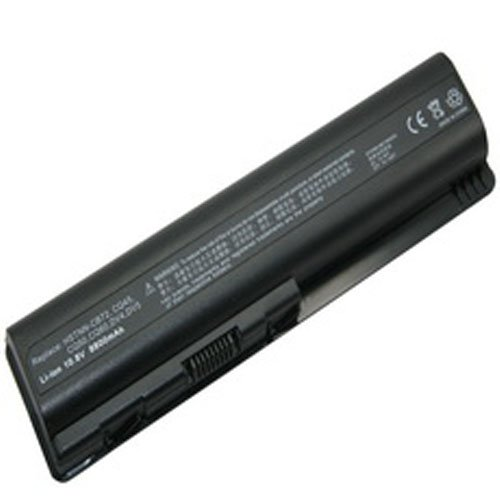 HP G60-235DX Laptop Battery (Lithium-Ion, 12 Cell, 8800 mAh, 98wh, 10.8 Volt) - Replacement for HP DV4H Series Laptop Battery