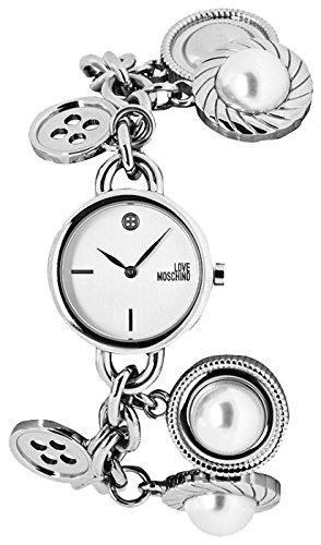 Moschino   -Armbanduhr  Analog  Quarz Edelstahl MW0487