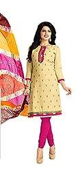 Aarvi Women's Cotton Unstiched Dress Material Multicolor -CV00110