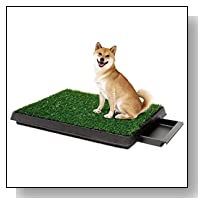 Hotouch Pet Dog Training Grass Pad Zoom Park Potty Patch Mat