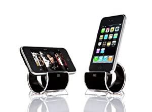 Sinjimoru Sync and Charge Dock Stand for iPhone 4, 3G, 3GS, and iPod (Black)