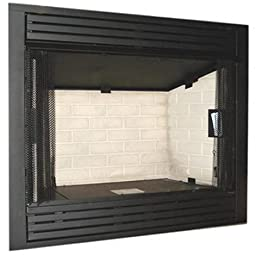 Monessen Gcuf36c-r 36-inch Louvered Circulating Vent-free Firebox With Refractory Firebrick
